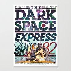The Dark Space Canvas Print