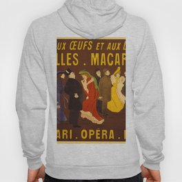Vintage poster - French Advertisement Hoody