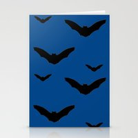 bats Stationery Cards featuring Bats by Jessica Slater Design & Illustration
