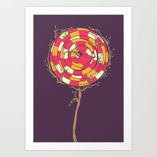 Sweet & Dangerous Art Print