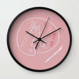 You, Me, Si!  Wall Clock