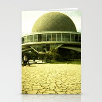 ufo Stationery Cards featuring UFO by Jacquie Fonseca