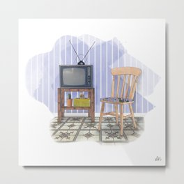 Grandma's Kitchen Metal Print