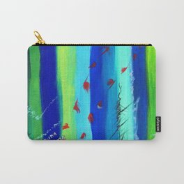 Nature Abstract Carry-All Pouch