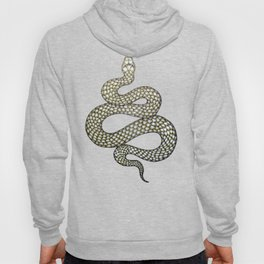 Snake's Charm in Black Hoody