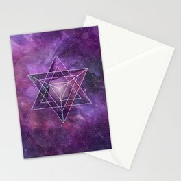 Metatron's Merkaba  Stationery Cards