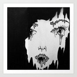 Melt. Art Print