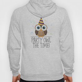 Party Owl The Time Hoody
