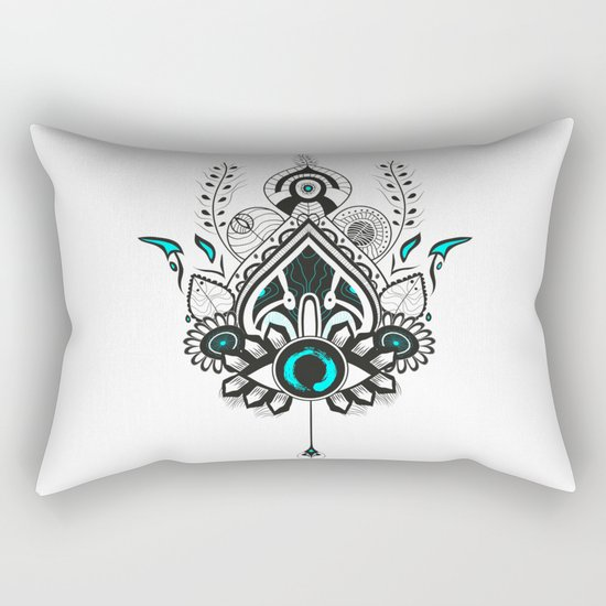 Magic Eye Rectangular Pillow