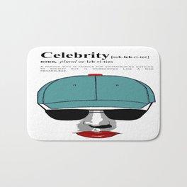 Celebrity Bath Mat