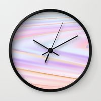 metallic Wall Clocks featuring metallic by Grace