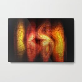 Concept abstract :Abstract colouring Metal Print