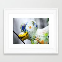 duck Framed Art Prints featuring Duck  by LoRo  Art & Pictures