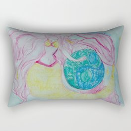 MERMAID OF BALANCE Rectangular Pillow