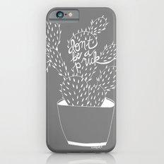 cactus in white Slim Case iPhone 6s