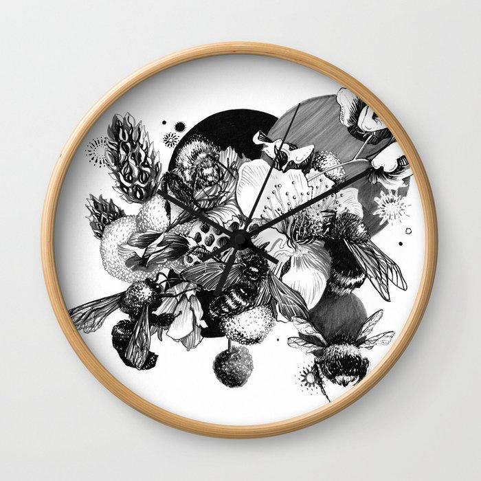 Busy Bee's Wall Clock