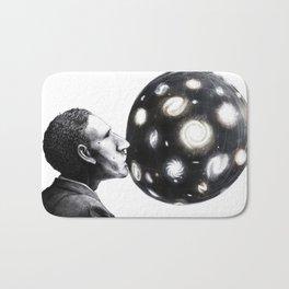 Hubble Bubble & The Expanding Universe Print Bath Mat