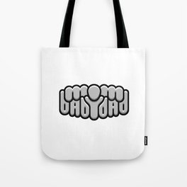 MOM BABY DAD ambigram Tote Bag