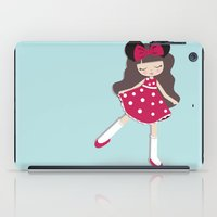 minnie iPad Cases featuring minnie love by made by kale