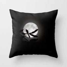 Buckeye Moon Throw Pillow
