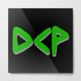 Green DCP Metal Print