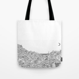 Houses in motion Tote Bag
