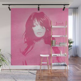Janet Jackson - Pop Art Wall Mural