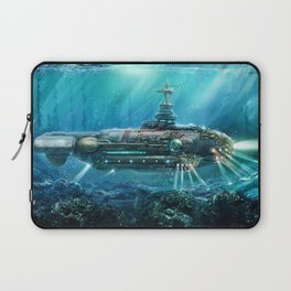 Steampunk Submarine Laptop Sleeve