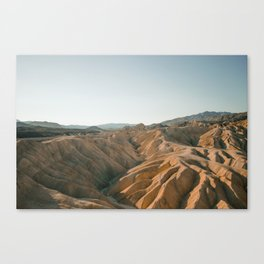 Zabriskie Point, Death Valley CA Canvas Print