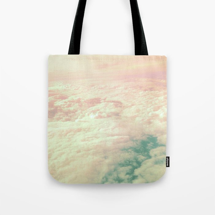 Raindbow Clouds Tote Bag