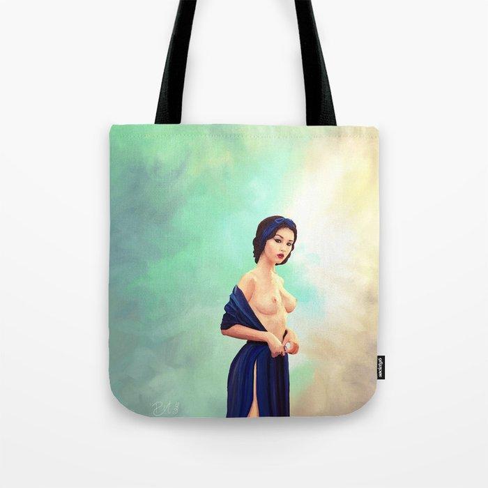 Sexy Snow White Tote Bag By Pietrobranca Society6