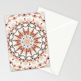 Autumn Colors Mandala Stationery Cards