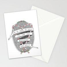 mistletoe & holly Stationery Cards