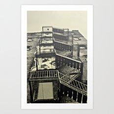 Stairz.  Art Print