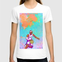 lebron T-shirts featuring LeBron James by Maddison Bond