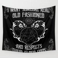 Respect Your Elder Gods Wall Tapestry