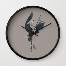 Anxiety (Invisible Variant) Wall Clock