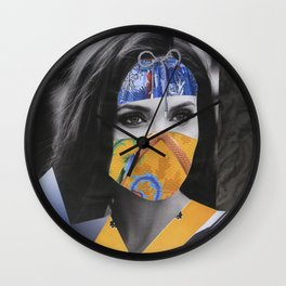 Super hero complex Wall Clock