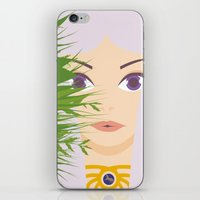 khaleesi iPhone & iPod Skins featuring Khaleesi of the Grass Sea by momolady