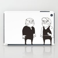 twins iPad Cases featuring twins  by Adrian Osorio