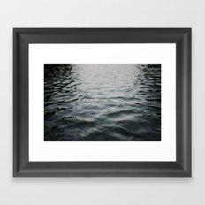 River Water Framed Art Print