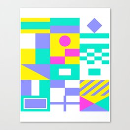Sea Society (dark) Canvas Print