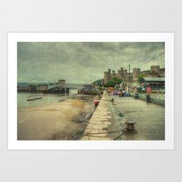 Conwy Castle Art Print
