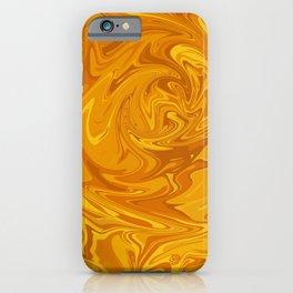 Molten Honey iPhone Case