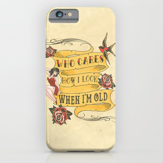 Tattoo iPhone & iPod Case