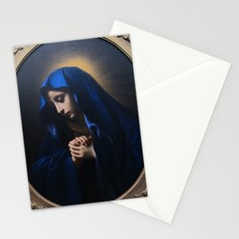Carlo dolci, mater dolorosa, 1655 Stationery Cards