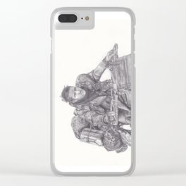 Mad Max - Tom Hardy Clear iPhone Case