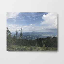 Mountains of Southern Austria Metal Print