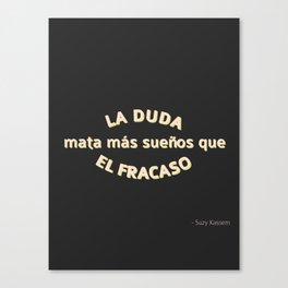 Duda Canvas Print