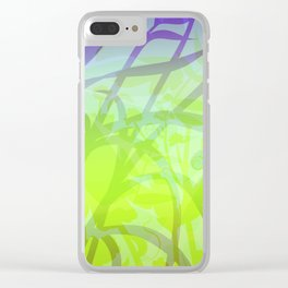 Lush Undergrowth Clear iPhone Case